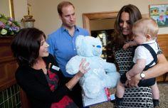 El príncipe George en su primer compromiso oficial
