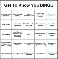Free printable bingo cards activities pinterest human bingo get to know you bingo maxwellsz