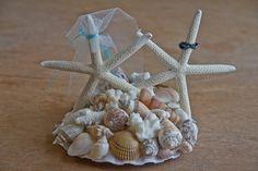 The PERFECT beach wedding cake topper!
