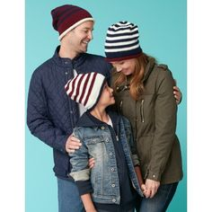 If I ever have to wear a beanie, it should be striped and match my family