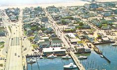 The highly controversial Route 50 Bridge opened in 1942. The new entrance onto North Division Street caused incoming traffic to bypass the existing business district and, therefore, changed the logistics of the town. #oceancitycool #ocmd