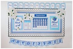 Southern Charm - SchoolgirlStyle Southern Charm - SchoolgirlStyle Southern Charm - SchoolgirlStyle www.schoolgirlstyle.com classroom decor, classroom theme, gingham, polka dots, magnolia, poppy, poppies, blue, navy, blue and white, red and white, red and black, red blue and white, buffalo check, birthday set, teacher desk, classroom organization Classroom Banner, Classroom Desk, Classroom Themes, Classroom Organization, Teacher Supply Store, Teacher Supplies, Teacher Cart, History Classroom Decorations, Navy Blue Decor