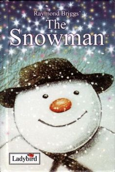 THE SNOWMAN a Ladybird Book by Raymond Briggs. Gloss Hardback 1988.    James builds a snowman which for one magical night, comes alive! A very simple storyline illustrated with stills from the film.