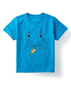 Look at this Turquoise Bunny Face Tee - Toddler & Kids by Festuvius Bunny Face, Sleeve Designs, Cotton Tee, Short Sleeve Tee, Boy Birthday, Toddler Boys, Little Boys, Graphic Tees, Bear