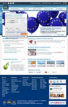 Siamo lieti di presentarvi la nuova home page di Best Western Italia. Buona navigazione!