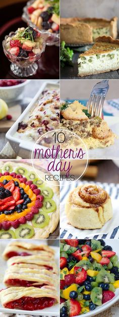 Whether you are hosting Mother's Day Brunch or just want to surprise mom with a special breakfast, these 10 MOTHER'S DAY BRUNCH IDEAS are just what you need for the perfect meal.