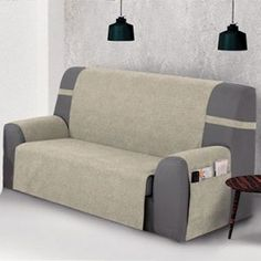Modelo práctica Banes marfil 01 Furniture, Slip Covers Couch, Sofa, Deco, Home Decor, Home Diy, Couch