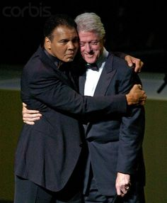 """The Greatest"" Muhammad Ali & President William Jefferson Clinton"