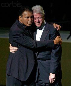 """The Greatest"" Muhammad Ali & President William Jefferson Clinton"