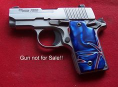 Sig Sauer Grips Sig P238 Grips Red White and Blue Kirinite(TM) Grips nice pair!