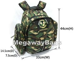 a7d03ed9af  Vection  Camouflage  Backpack  Hunting  Shooting  Army  Solidiers   Atheletics  Unique  SkateBoard  Pack  Snowboard  Skate  MegawayBags   CC-0368--51354b