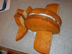 airplane cake! Plus decorate it like this: http://www.duncanhines.com/recipes/cakes/Duncan%20Hines%C2%AE/airplane-cake/print/