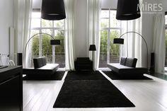 Zwart tapijt
