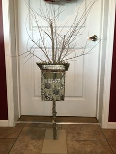 Hunting blind Valentine box Father Son project
