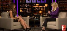 Kate Beckinsale appeared on Chelsea Lately in a gorgeous little black dress and high heels. #Kate_Beckinsale #heels #lbd