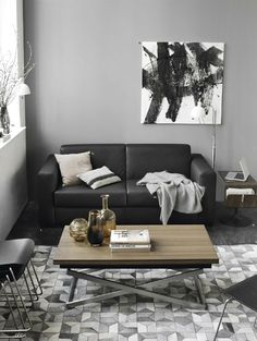 Bo Concept. The coffee table is nice.