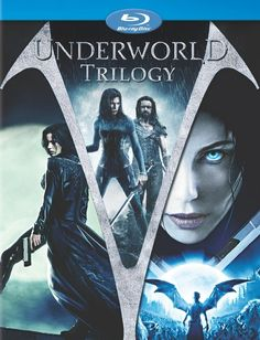 Underworld Trilogy. First one is still my favorite one, although Evolution is a close second