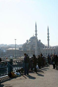 ✿ ❤ Perihan ❤ ✿ Yeni Camii from Galata bridge, İstanbul, Turkey