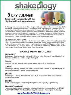 Learn more about the 3 Day Shakeology cle… Shakeology 3 Day Cleanse instructions. Learn more about the 3 Day Shakeology cleanse plus what the 3 Day Refresh has to offer here: www. Shakeology 3 Day Cleanse, Beachbody Shakeology, Cleanse Detox, Health Cleanse, Body Cleanse, Beachbody 21 Day Fix, 21 Day Fix Diet, 21 Day Fix Extreme, Full Body Detox