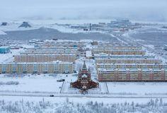 Diamond mine in Sibiria