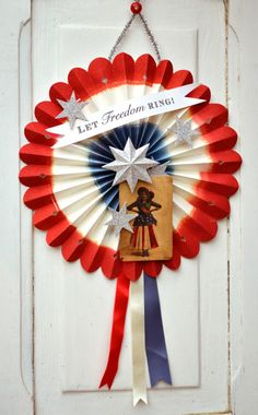 Brenda Walton Fourth of July Wall Decor