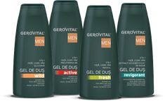 Gerovital Men Deodorant, Shampoo, Personal Care, Bottle, Beauty, Rome, Self Care, Personal Hygiene, Flask