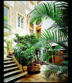 Spanish Courtyards
