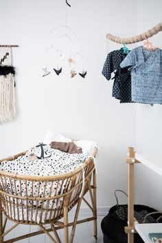 Lovley light and nordic style baby bedroom Baby Bedroom, Baby Boy Rooms, Baby Boy Nurseries, Nursery Room, Kids Bedroom, Nursery Decor, Room Decor, Baby Decor, Kids Decor