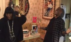 "Video of The Week: Tyrese and Patti Labelle Sing ""Shame"" In Patti's Kitchen 