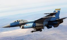 F-16 Aggressor on the hunt