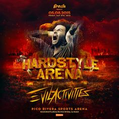 Starting in 1998, Evil Activities change the Hardcore game forever. We are excited this May to be graced with Evil Activites presence at our Hardstyle Arena.   Get your tickets today: GunzforHireLA.Eventbrite.com.     Official Evil Activities Facebook page - Website: http://www.evil-activities.nl - Bookings: http://www.platinum-agency.com - More information: http://twitter.com/EvilActivities