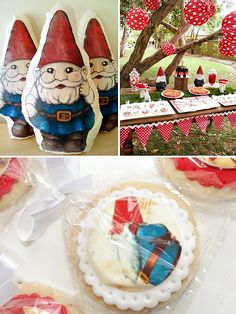 Cute Garden Gnome Party {First Birthday}. Probably the cutest idea, ever!
