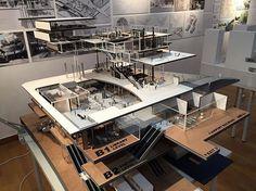 design by Jung Chang Won. #graduation #exhibition #architecture via @brownymamba…