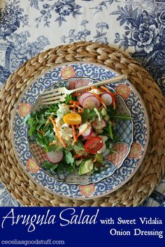 Arugula Salad with S