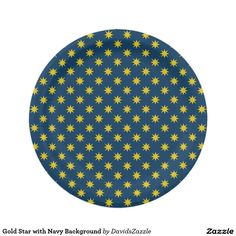 Gold Star with Navy Background Paper Plate This design is available on many products! Click the 'available on' tab near the product description to see them all! Thanks for looking!  @zazzle #art #star #pattern #shop #home #decor #kitchen #dining #apartment #decorate #accessory #accessories #fashion #style #women #men #shopping #buy #sale #gift #idea #fun #sweet #cool #neat #modern #chic #black #blue #orange #grey #purple #navy