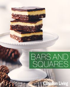 Bars and squares for The Great Canadian Cookie Exchange