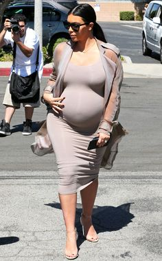 Kim Kardashian's Due Date Revealed! Find Out When She's Expecting Baby No. 2 | E! Online Mobile