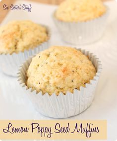 Lemon Poppy Seed Muffins      Serving Size  1  Recipe total Servings 12    Calories 156   Total Fat 7.57 g   Total Carbohydrate 17.2 g   Fiber 0.8 g   Sugar 0.8 g   Points 4   Points Plus 4