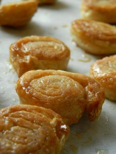 Cinnamon-Sugar puff pastry wheels...FOUR ingredients to deliciousness!