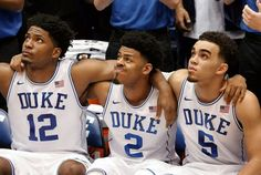 Justise Winslow, Quinn Cook and Tyus Jones