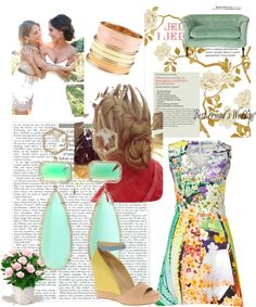 Summer Love, created by kailan-white on Polyvore