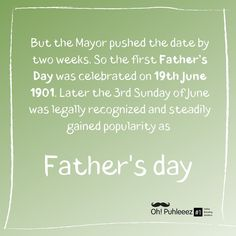 Facts about Father's Day This is how it all started ✨🎂 #digitalmarketing #fathersday #father #fatherhood #fatherdaughter #fatherdaughterlove #dad #contest #pops #dadlife #fathersday2020 #ohpuhleeez  #ohpuhleeezdigitalmarketingsolution #gifts #21june Father And Daughter Love, First Fathers Day, Digital Marketing, Facts, Instagram
