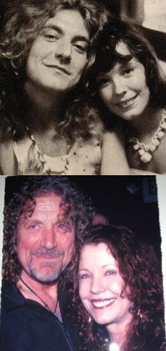 Robert Plant & miss pamela