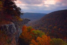 This is a shot of Hawksbill Crag; in the Upper Buffalo Wilderness, Ponca, Arkansas