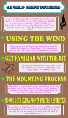 Alex Funicello  Windsurfing Tips for Beginners…