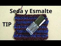 Secreto o Tip sobre cuando tejemos a crochet seda tutorial paso a paso. - YouTube
