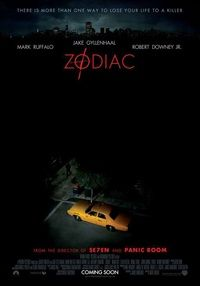 Poster for 'Zodiac'.