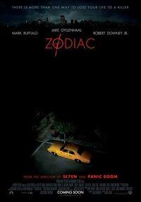 Poster for 'Zodiac'.
