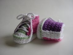 CHUCKLES Baby Booties, High Top Chucks Inspired