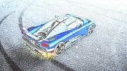 "New artwork for sale! - "" Koenigsegg Agera Hh Blue by PixBreak Art "" - http://ift.tt/2lS6Yut"